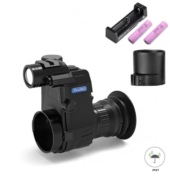 PARD NV007S mit16mm Linse 850nm oder 940nm, Nachtsichtgerät + Okular-Adapter
