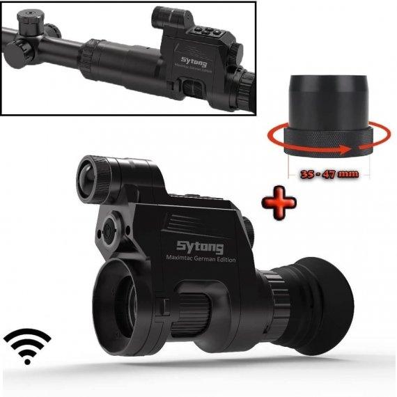 Sytong HT-66 German-Edition mit 16mm Linse, Nachtsichtgerät + Universal Schnell-Adapter