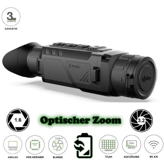 InfiRay Zoom ZH38 Wärmebildkamera mit variablen optischen Zoom