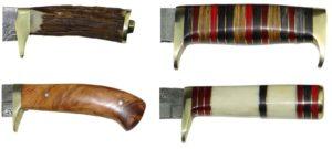 Damastmesser-Hirschhorngriffe-Holzgriffe-Knochengriffe