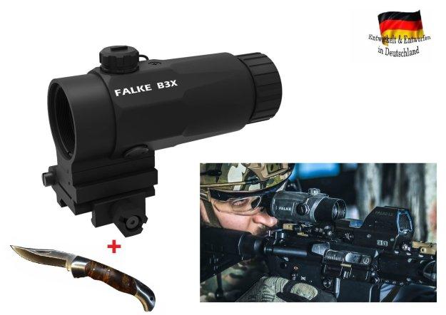 Falke magnifier b facher vergrößerungsmodul für reflexvisier