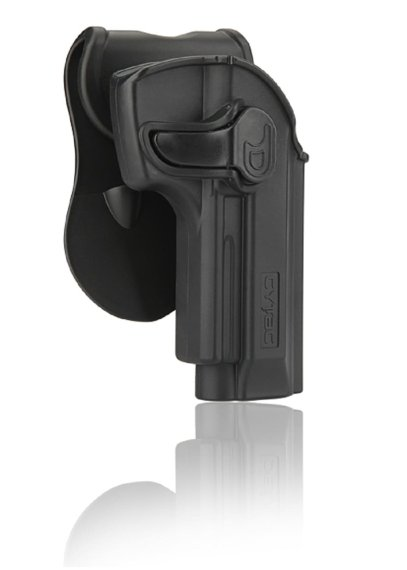 Holster für Beretta 92, 92FS, GSG92, Girsan Regard MC mit Paddle 360° Rotation
