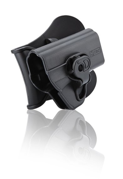 Holster mit Paddle 360° Rotations für Smith & Wesson S&W M&P Shield 9mm + .40