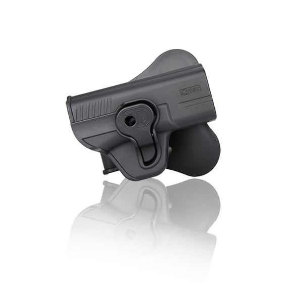 Holster für Smith & Wesson M&P Compact, Girsan MC28 - SAC mit Paddle von Cytac