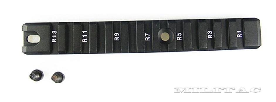 Flache Oberseite Falten Tragegriff Für Picatinny Weber Schiene 21Mm Montage WR