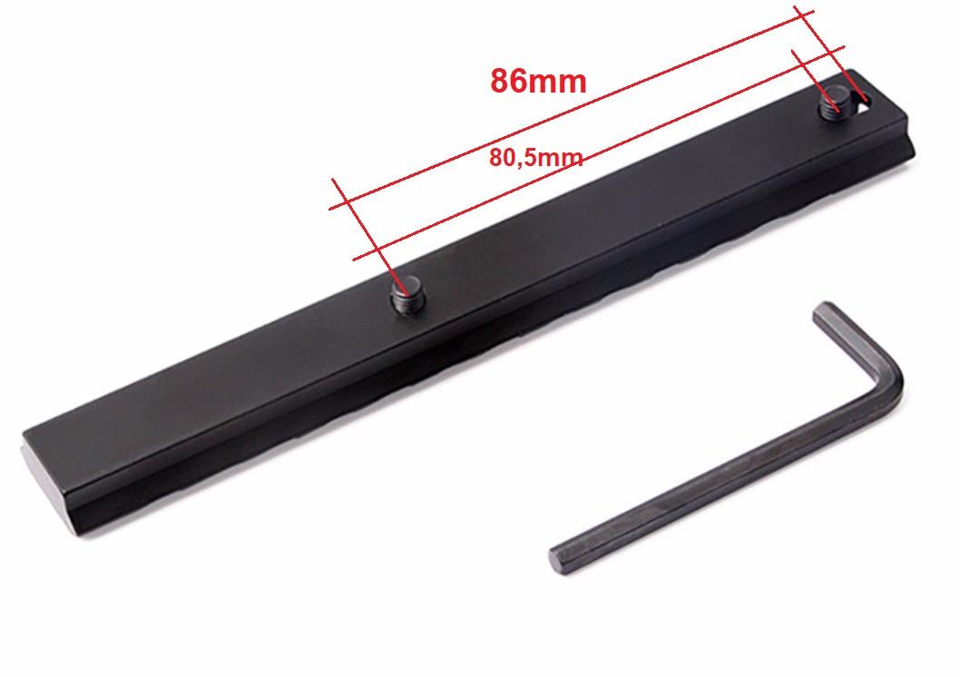 ToopMount Taktische Picatinny-Schienenhalterung G36 3-teiliges langes Picatinny-Schienensystem Jagdzubeh/ör f/ür den Au/ßenbereich 20 mm Picatinny-Schienenset