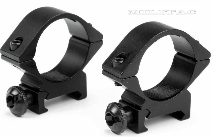 tiefe zielfernrohr ringe 30mm picatinny schiene. Black Bedroom Furniture Sets. Home Design Ideas