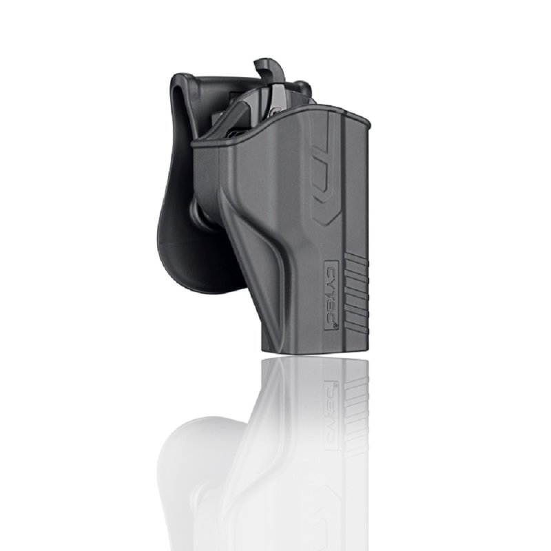 Holster für Smith & Wesson M&P 9mm, Girsan MC28 SA S&W mit Quick Release Paddle » Modell 2018 «